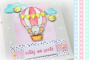 DIY darčeková baby taštička