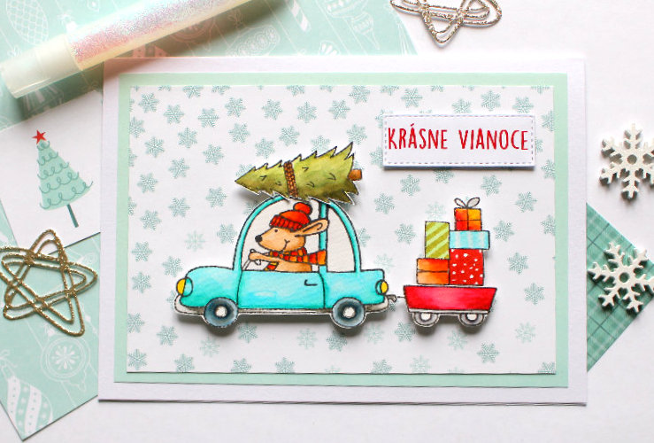 Vianočné pohľadnice – inšpirácie